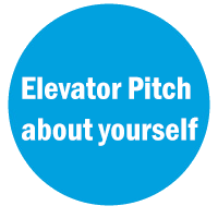 INTRODUCING YOURSELF WITH AN ELEVATOR PITCH
