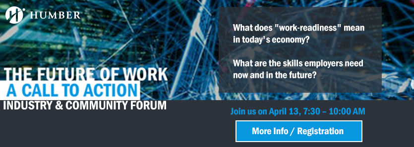 The Future of Work: A Call to Action Industry & Community Forum